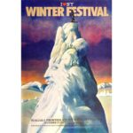Glaser poster - Niagra Frontier Winter