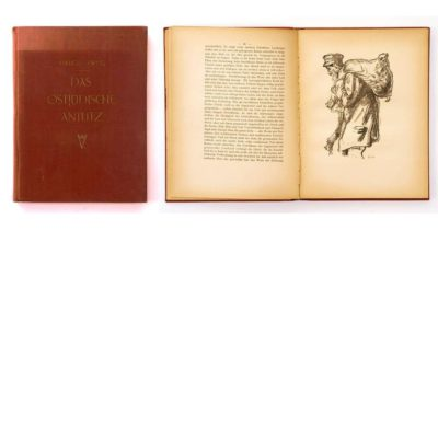 Hermann Struck book - Ost Juedische Antlitz