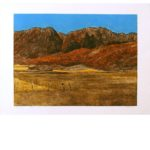 Smith etching - Dry Lake