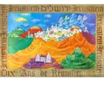 Weishoff Poster - Jerusalem 10 Years of Reunification