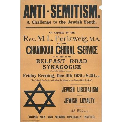Antisemitism lecture - England