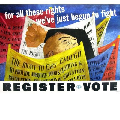 Shahn poster - for all these rights