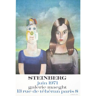 Steinberg Exhibition Poster - Two Women