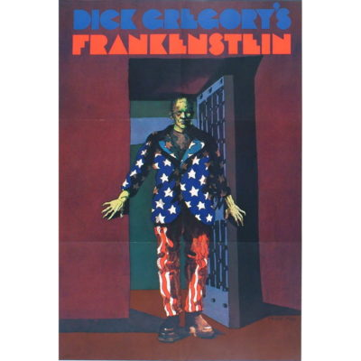 Dick Gregory Frankenstein Poster