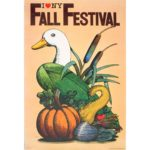 Milton Glaser Poster - Fall Festival New York